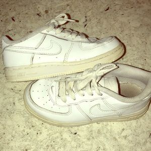 Little Kids Nike Air Force 1- size 10c